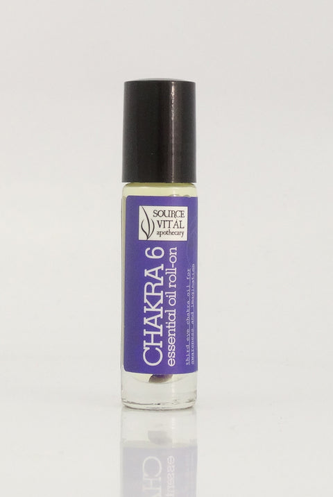 essential Oil Rollerball to Support Chakra 6