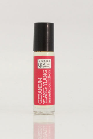 Geranium Ylang Ylang Essential Oil Roll-On