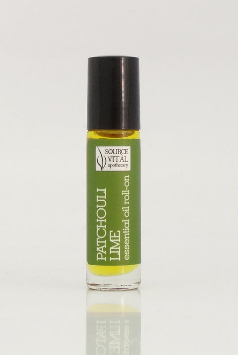 Patchouli Lime Essential Oil Roll-On