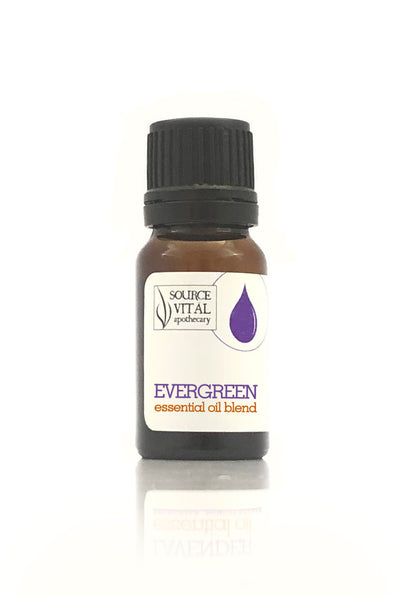 Evergreen Essential Oil Blend / Diffusion Blend - 100% Pure
