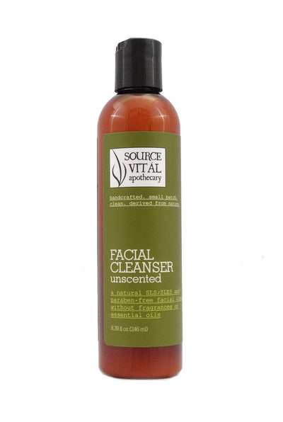 Natural Facial Cleanser, Unscented & Fragrance-Free