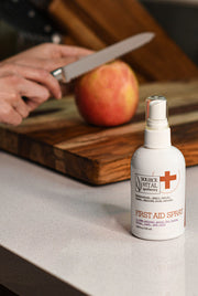 First Aid Spray - Natural Elixir - Naturally Soothe Sunburn, Insect bites, Rashes, and Minor Cuts