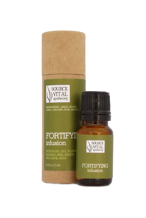 Fortifying Infusion, a Skin Strengthening Natural Face Oil Formula