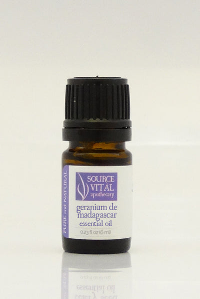100% Pure Geranium de Madagascar Essential Oil from Source Vitál