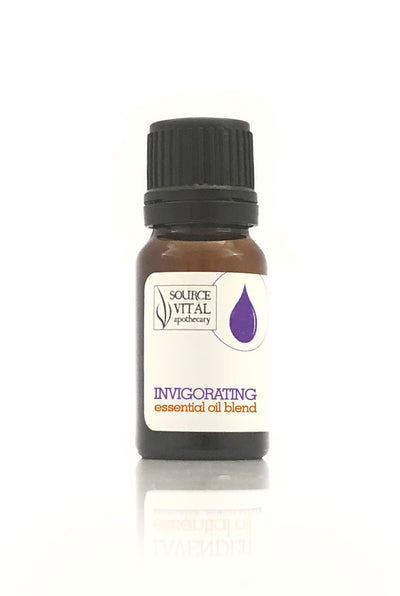 Invigorating Essential Oil Blend / Diffusion Blend - 100% Pure