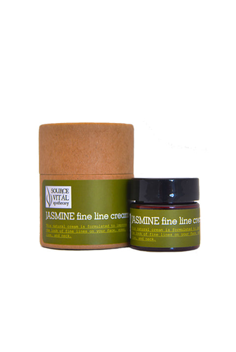 Jasmine Fine Line Cream for Eyes, Mouth, and Neck. For All your fine lines and wrinkles.