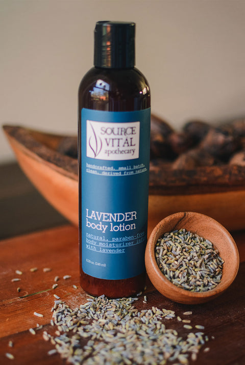 Body Lotion Moisturizer infused with Lavender