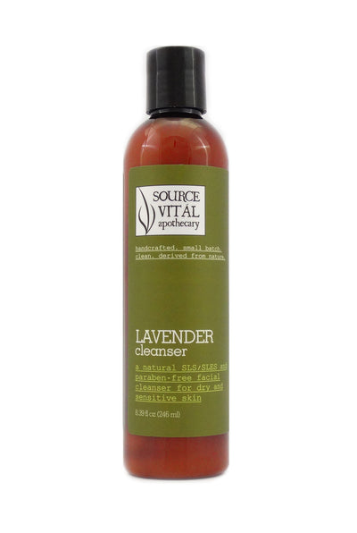 Natural Lavender Facial Cleanser for Sensitive Skin