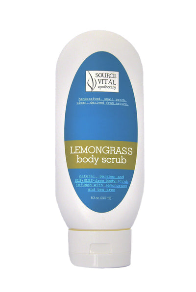 Lemongrass Body Scrub Natural Exfoliant