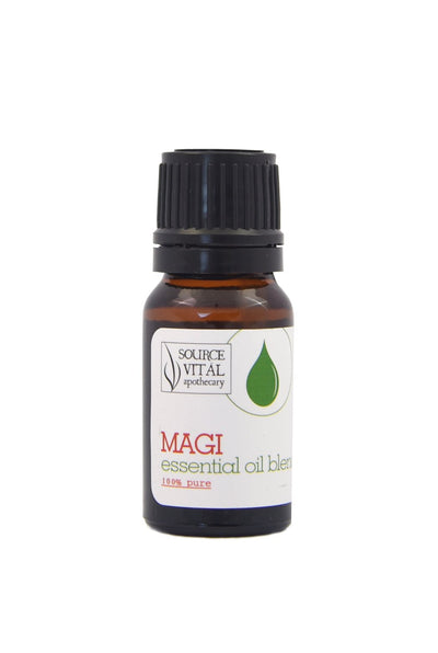 Magi Essential Oil Blend, a Natural, Synthetics Free Holiday Scent