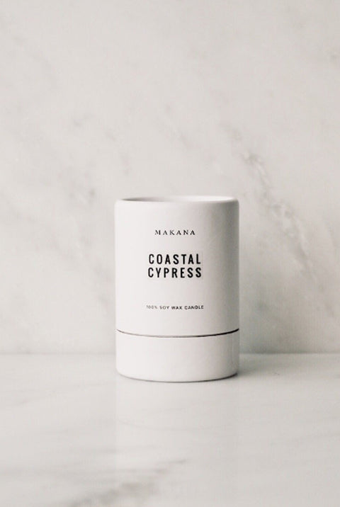 Makana Coastal Cypress Candle