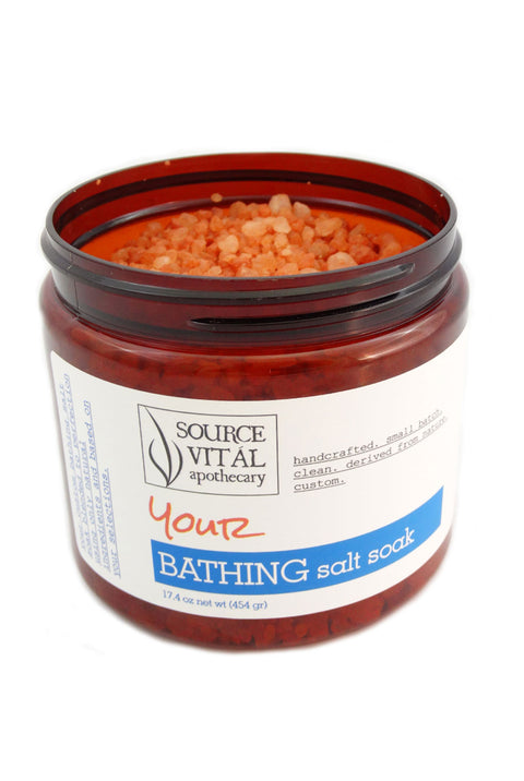 Customize Your Luxurious Bathing Experience with Your Own Bathing Salt Soak
