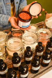 Customize Your Bath Salts - Choose Your Natural Ingredients
