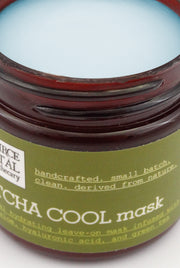 Natural, Clean Facial Mask to Soothe and Hydrate Skin, infused with Laminaria, Matcha Green Tea, and Hyaluronic Acid