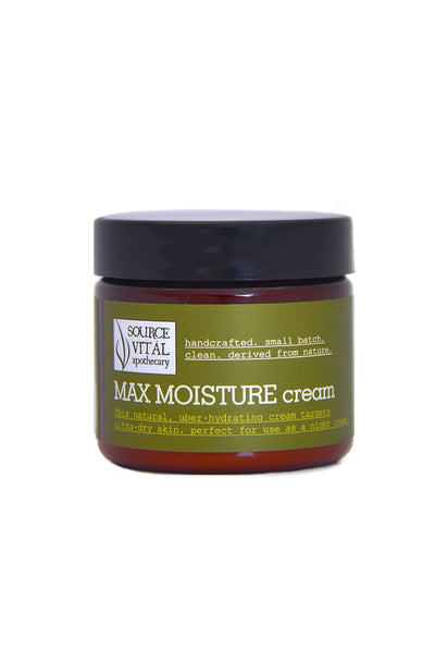 Maximum Protection Cream, a Natural Facial Moisturizer for Dry Skin & Extreme Hydration