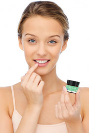 Use Beauty by Earth's Organic Mint Lip Scrub