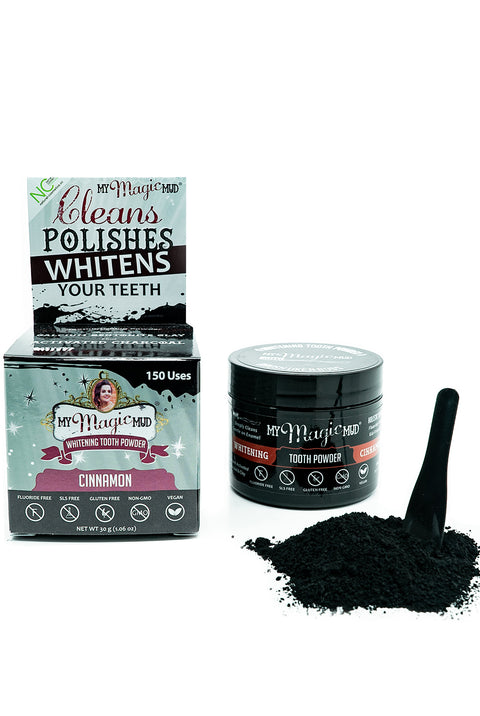 Activated Charcoal Tooth Powder from MyMagicMud
