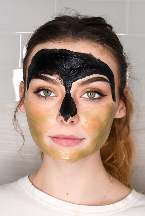 Multi-Masking Kit with 3 facial masks to treat the skin