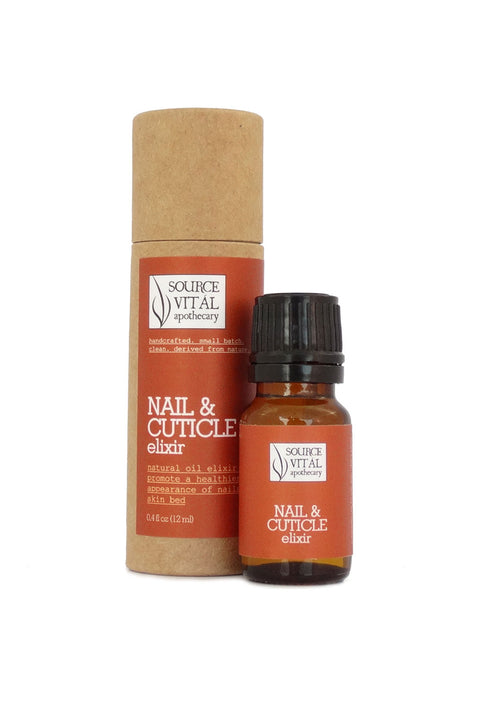 Nail & Cuticle Elixir, a Natural Remedy to Improve Appearance of Nails and Skin Around Your Nails