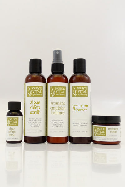 Natural Skin Care Kit for Normal Skin
