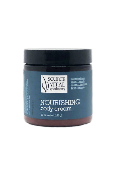 Natural Hydrating & Nourishing Body Cream