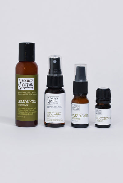 Skin Care Starter Kit for Oily Skin Types by Source Vitál Apothecary