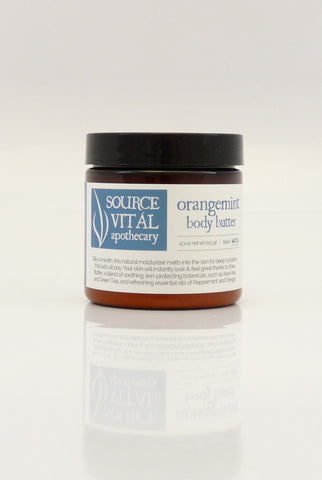 Orangemint Body Butter/Moisturizer/Cream from Source Vital