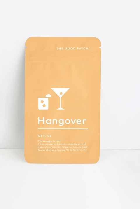 The Good Patch organic topical patch to ease the symptoms of hangover with b vitamins