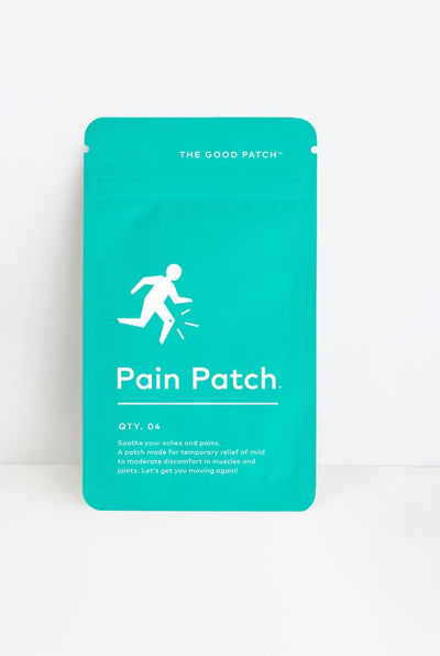 The Good Patch organic topical patch for aches and pain with lidocaine and menthol