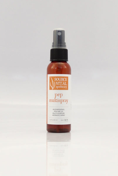 Natural Multipurpose Spray for Energy Made with Essential Oils