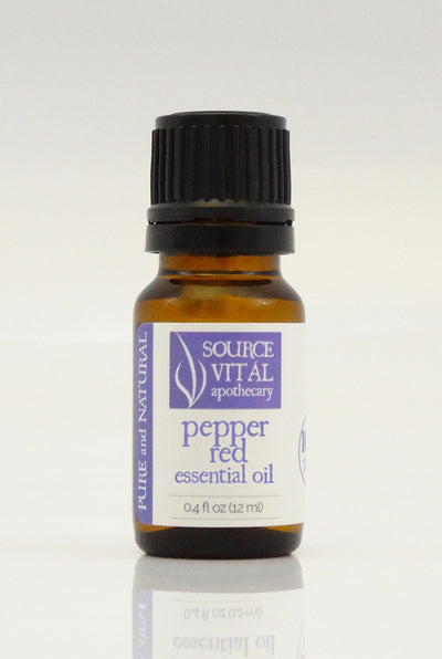 100% Pure Pepper Red Essential Oil from Source Vitál