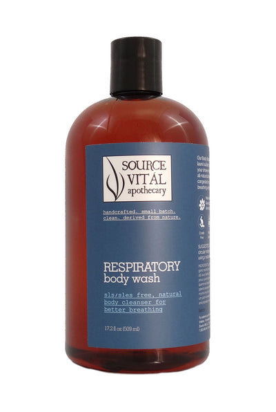 SLS/SLES Free, Natural Body Cleanser to Promote Good Health and Deep Breathing