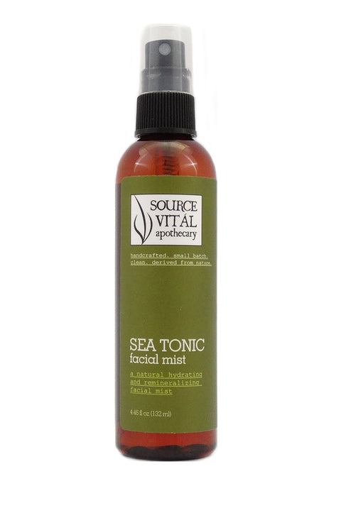 Sea Tonic, a Natural Hydrating & Reminalizing Facial Mist
