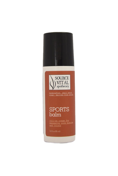 Natural Sports Balm Roll-On Gel for Sore Muscles & Joints