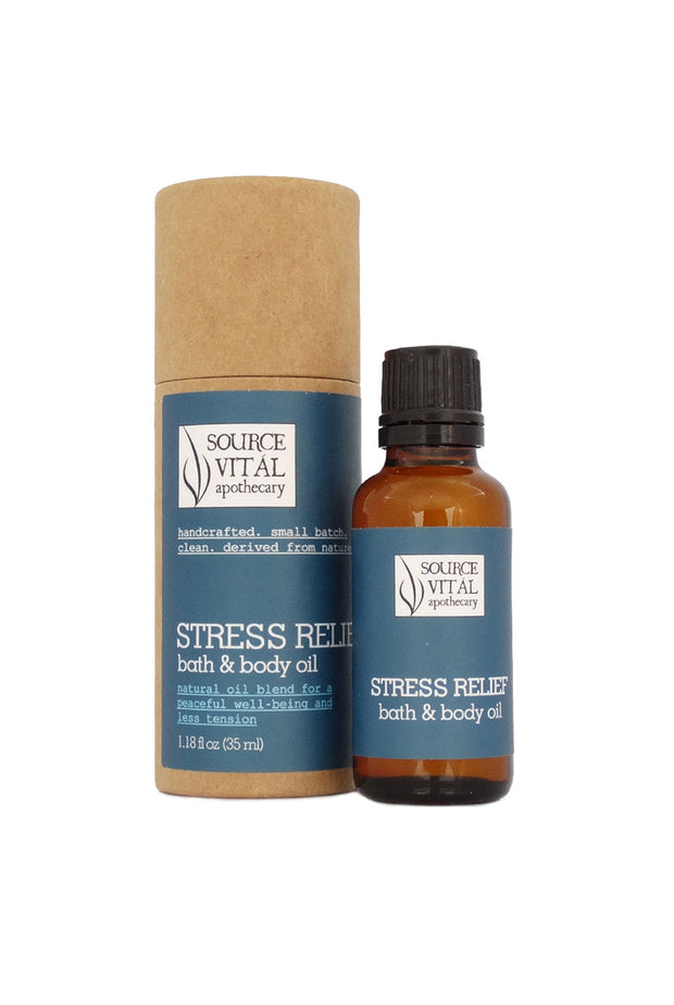 Stress Relief Bath & Body Oil 1