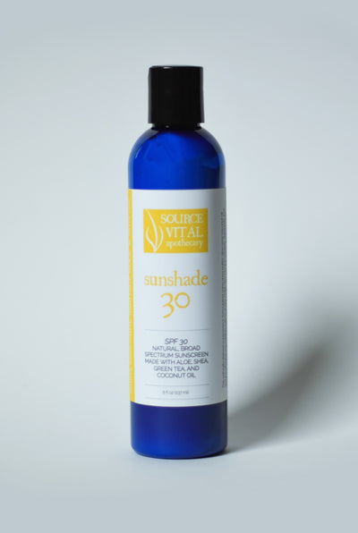 Sunshade 30, Natural SPF 30 Full Spectrum Sunscreen