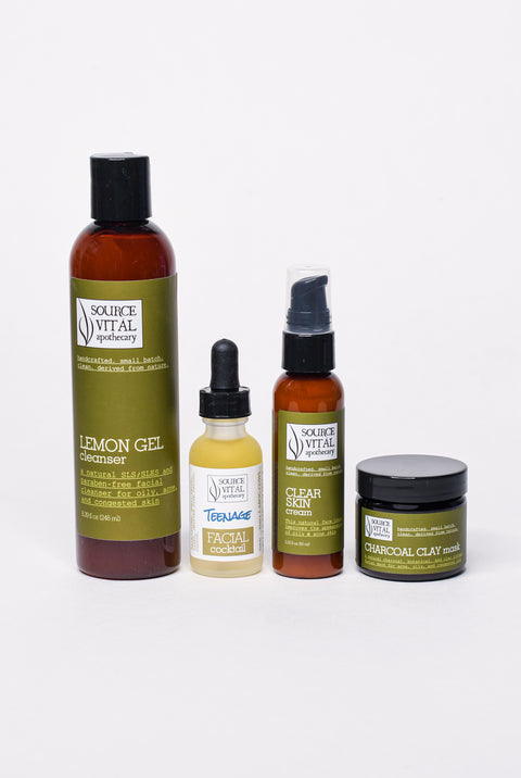 Teenage Skin Care Kit daily routine for teens