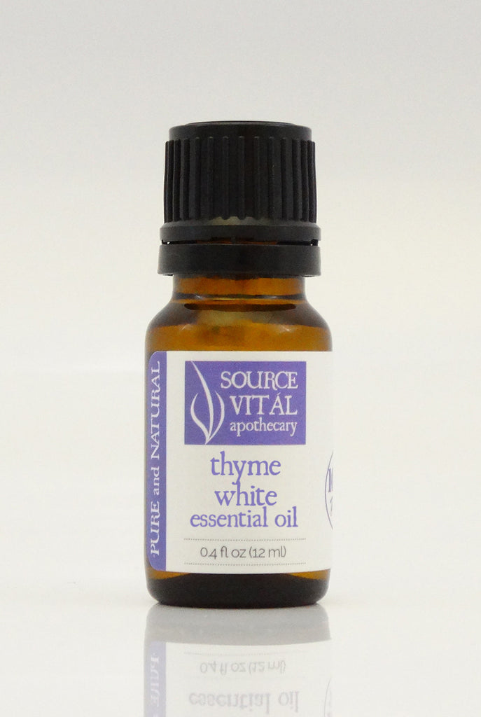 100% Pure Thyme White Essential Oil from Source Vitál