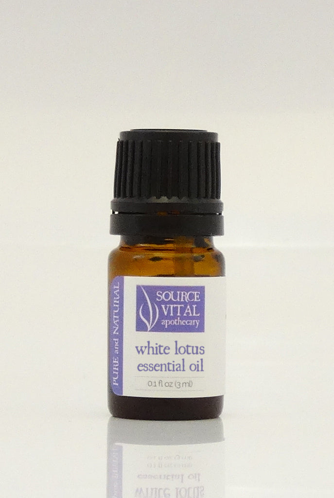 100% Pure White Lotus Essential Oil from Source Vitál
