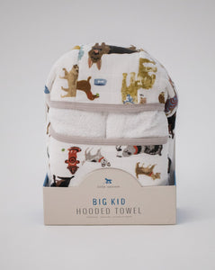 Big Kid Hooded Towel & Wash Cloth Set | Woof
