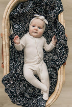 Load image into Gallery viewer, Muslin Swaddle | Black Vines