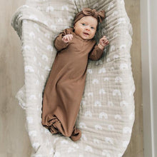 Load image into Gallery viewer, Muslin Swaddle | Sand Rainbow
