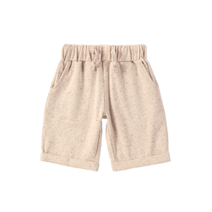 Organic Relax Pant | Beige Speckled