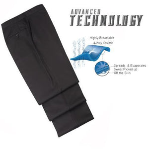 Smitty Premium 4-Way Stretch Tapered Fit Basketball Referee Pants