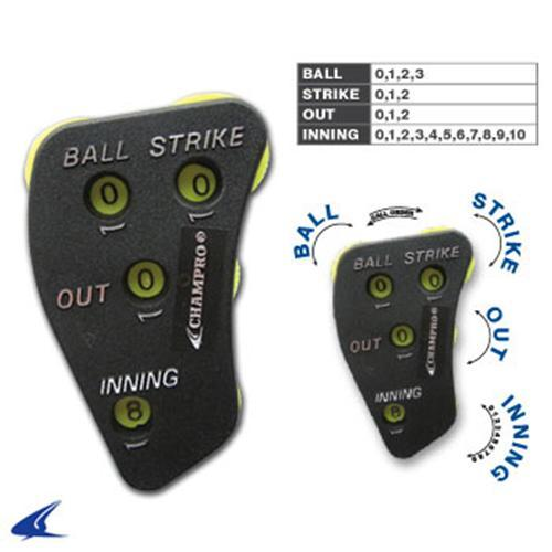 4-Way Plastic Umpire Indicator Ball, Strike, Out, Inning