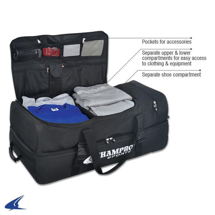 Champro Deluxe Umpire Equipment Bag