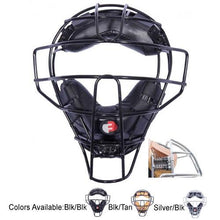 Load image into Gallery viewer, Force 3 Defender Shock Absorbing Umpire Mask