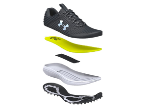 New! Under Armour 2020 Yard Turf Black/White Field Shoe