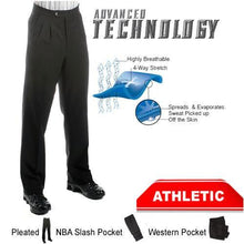 Load image into Gallery viewer, Smitty Premium 4-Way Stretch Basketball Referee Pants