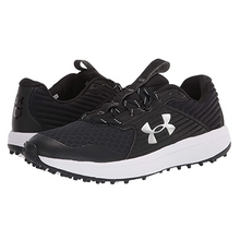 Load image into Gallery viewer, New! Under Armour 2020 Yard Turf Black/White Field Shoe